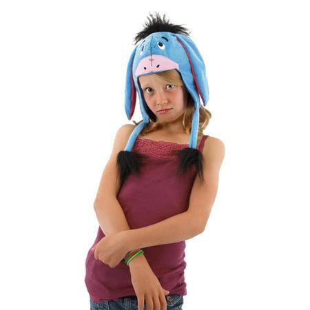 Winnie The Pooh Eeyore Costume Laplander Hat (Winnie The Pooh's Halloween)