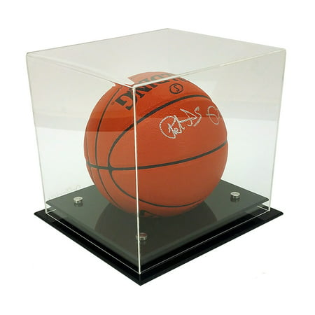 OnDisplay Deluxe UV-Protected Basketball/Soccer Ball Display Case ()