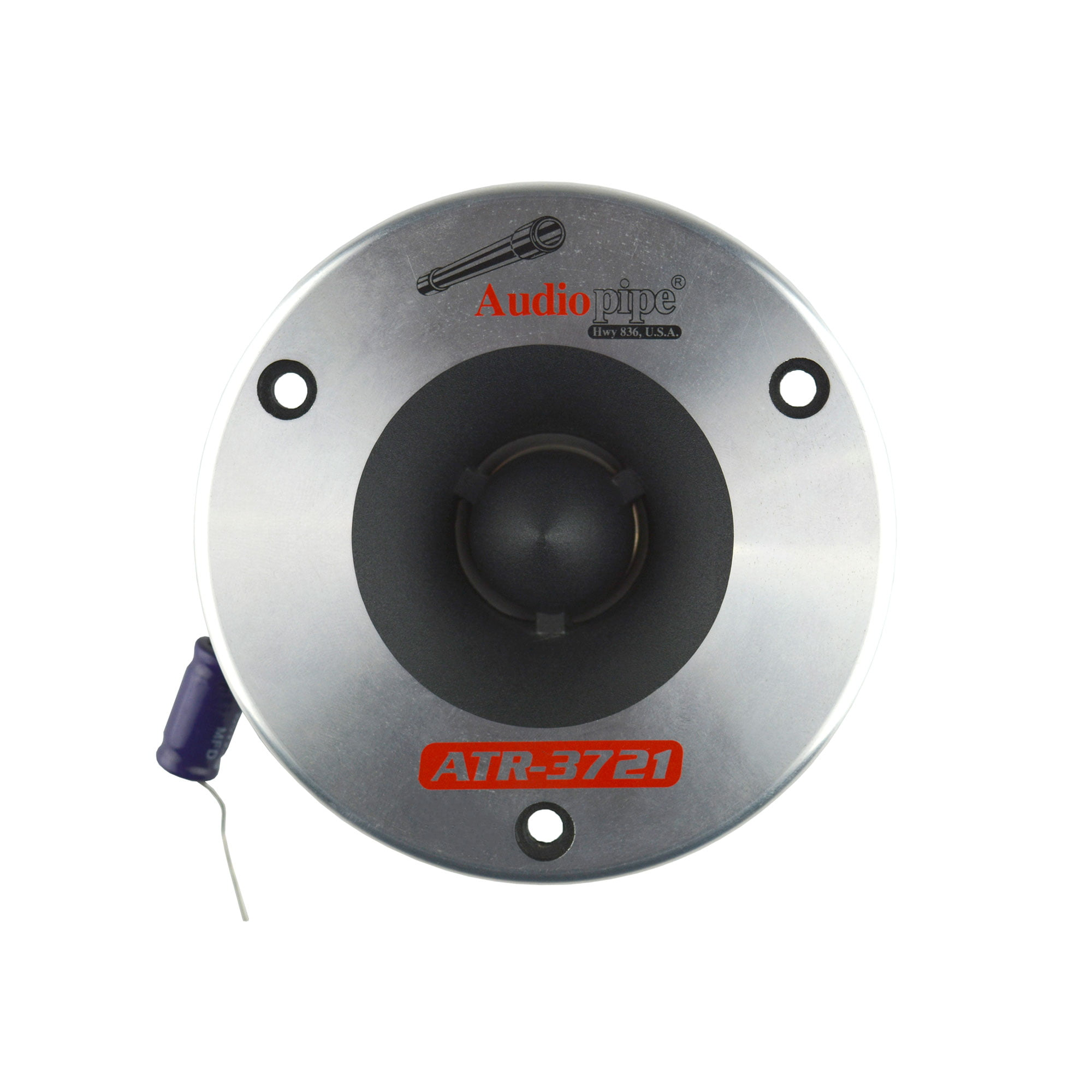 2 Audiopipe ATR-3721 3.75 350W Titanium Super Car Pro Tweeter Audio ATR3731 2 Audiopipe ATR-3721 3.75 350W Titanium Super Car Pro Tweeter Audio ATR3731 ATR3721