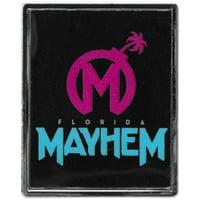 Florida Mayhem WinCraft Team Rectangle Pin