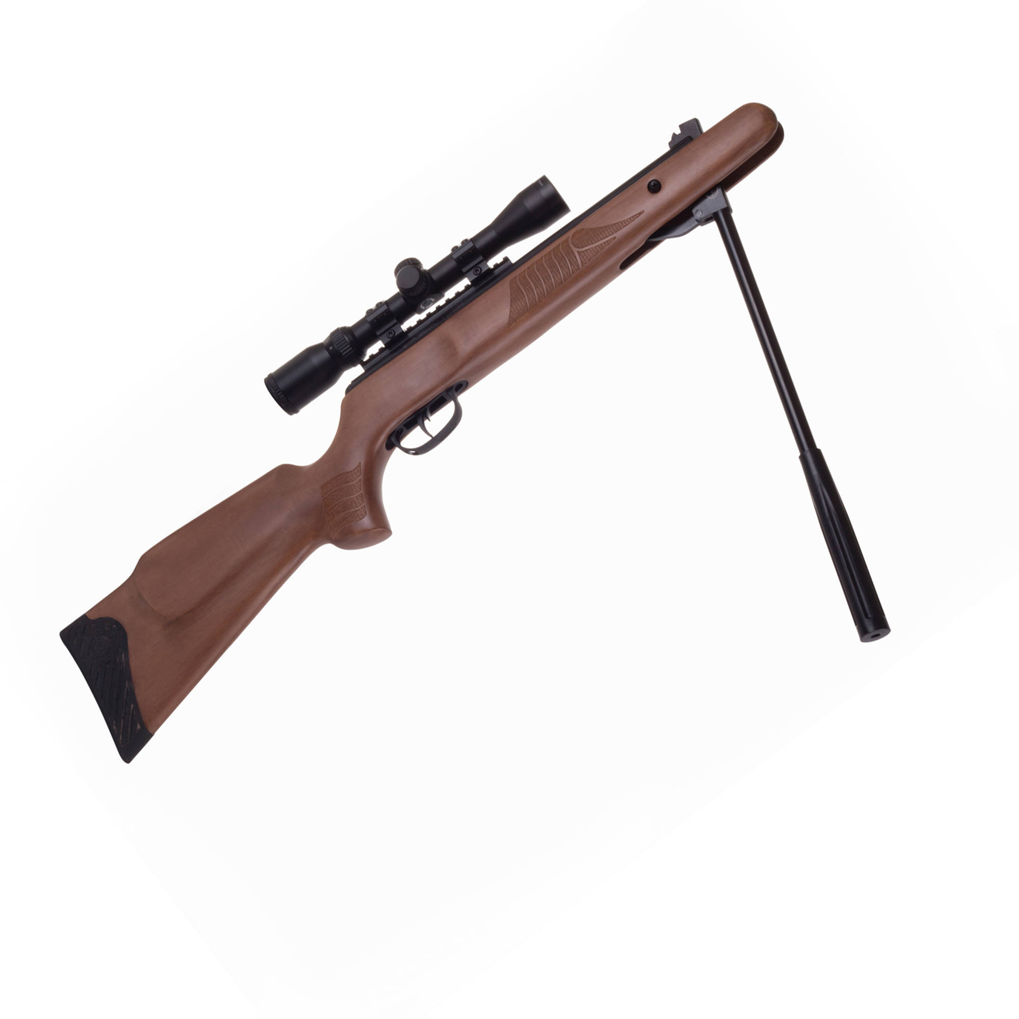 crosman nitro venom with scope 22 cal air rifle cvw8m22np walmart com