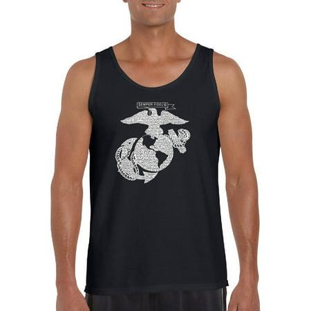 Big Men's tank top - marines - Big Marines