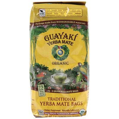 Guayaki Yerba Mate Bags, Traditional, 7.9 Oz