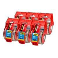 """Scotch Heavy Duty Shipping Packaging Tape Dispensers 6 pack, 1.5"""" Core"""