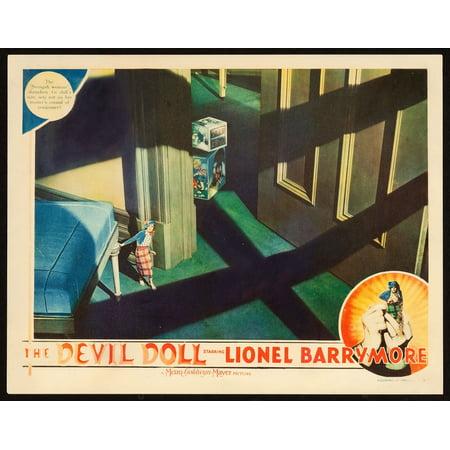 The Devil Doll Jean Alden 1936 Movie Poster (1936 Jean)