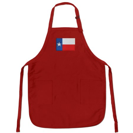 Texas Apron Grilling Or Kitchen Texas Design Aprons Famous Broad Bay Quality ()