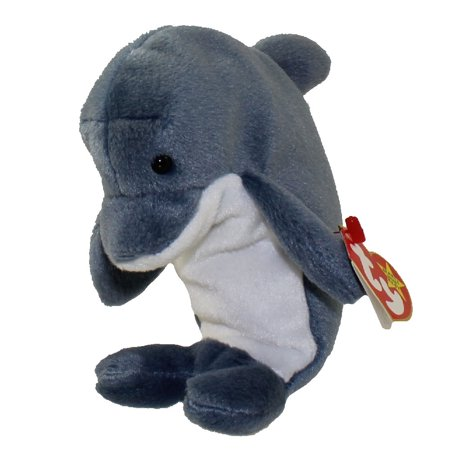 TY Beanie Baby - ECHO the Dolphin (6.5 inch) ()