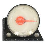 3-Inch Diamter Dial Gauge Level Angle Finder (ToolUSA: TM-22000)