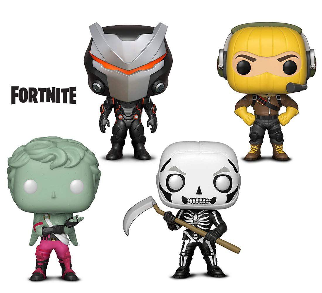 Warp Gadgets Bundle - Funko Pop GamesFortniteS1 - Omega, Raptor, Love Ranger and Skull Trooper (4 Items)
