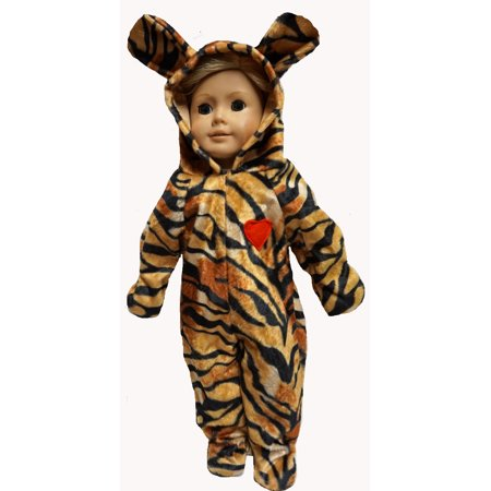 18 Inch Doll Tiger Halloween Costume Dress Up For Fun for $<!---->