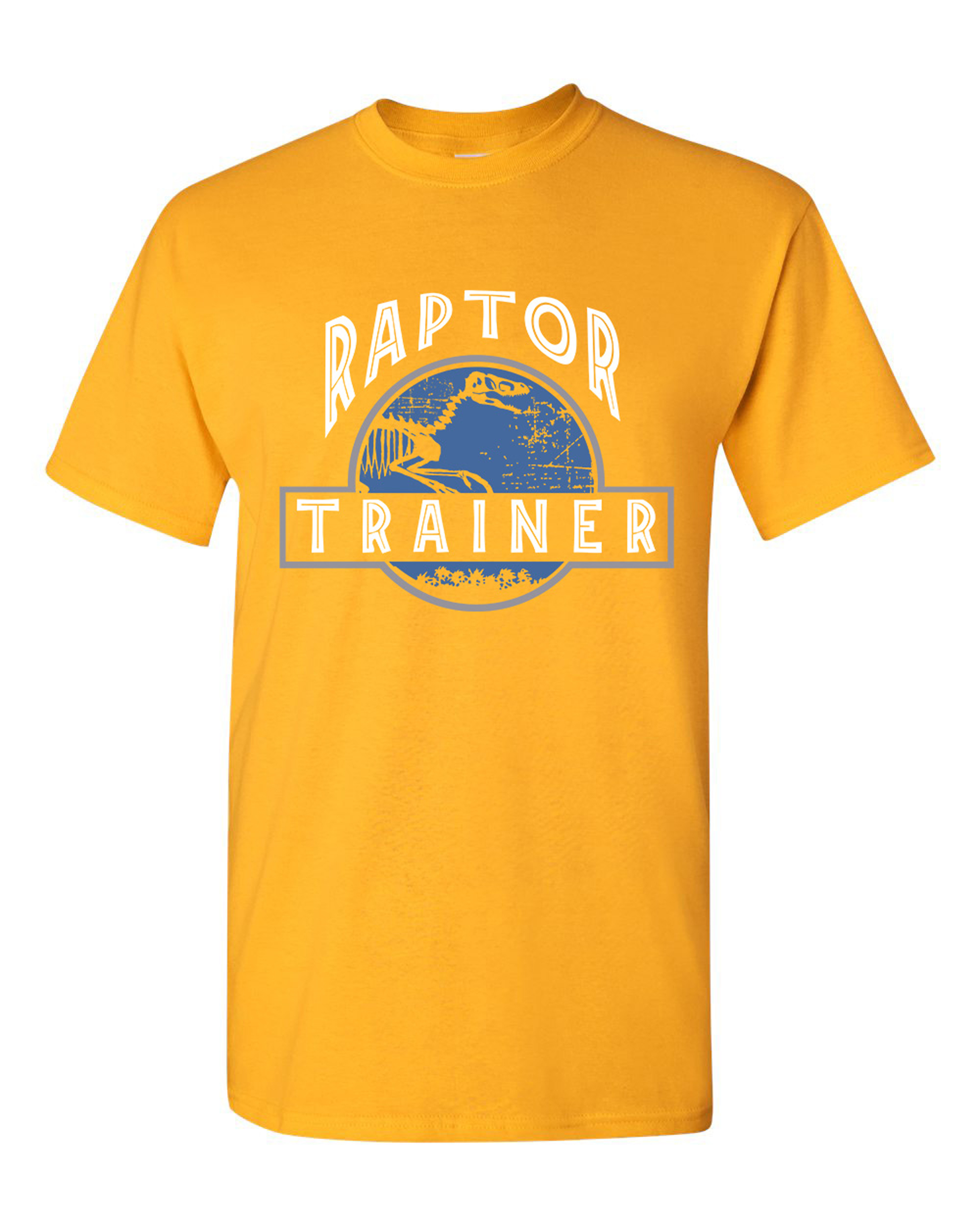 Raptor Trainer Dinosaur Movie Funny Humor DT Adult T-Shirt Tee