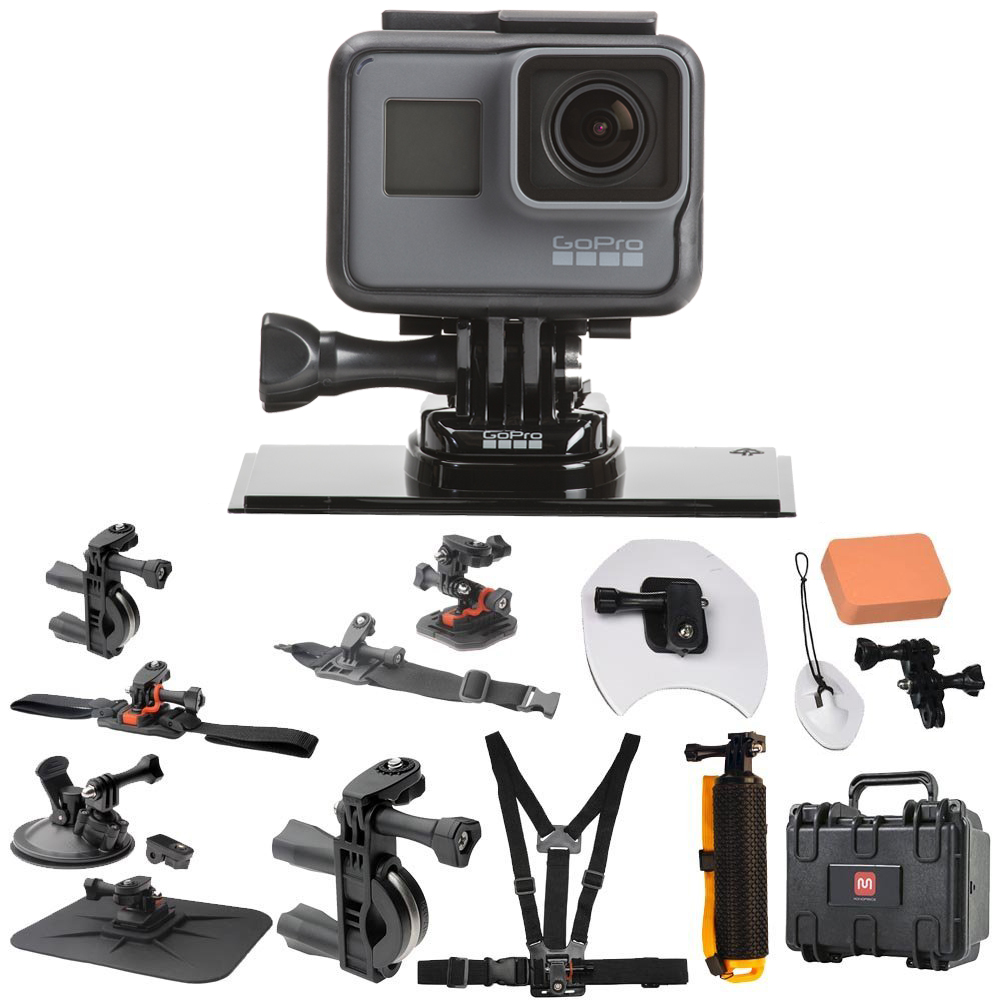 Buy GoPro Hero 5 Black (CHDHX-501) All In One Hard Case Pro Action Kit by GoPro