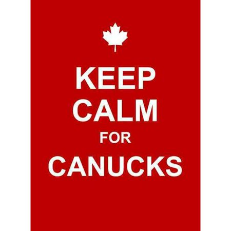 Keep Calm for Canucks