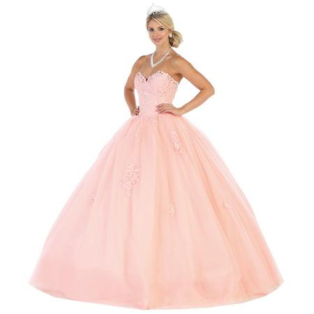 CLASSY DESIGNER QUINCEANERA BALL GOWN (Best Quinceanera Dress Designers)