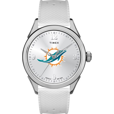 Timex - NFL Tribute Collection Athena Women's Watch, Miami Dolphins