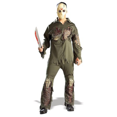 Friday The 13th Jason Super Deluxe Adult Costume - Jason From Friday The 13th Costume