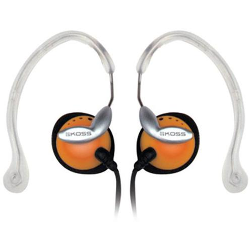 Koss CLIPPER ORANGE Orange Clipper Lightweight Clip-On Stereophone with In-Line Volume Control