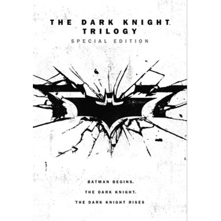 The Dark Knight Trilogy (Special Edition): Batman Begins / The Dark Knight / The Dark Knight Rises (DVD) (Batgirl Dark Knight)