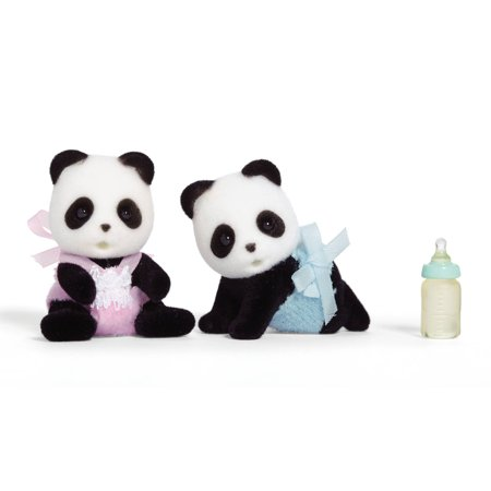 International Playthings Calico Critters Wilder Panda Bear Twins