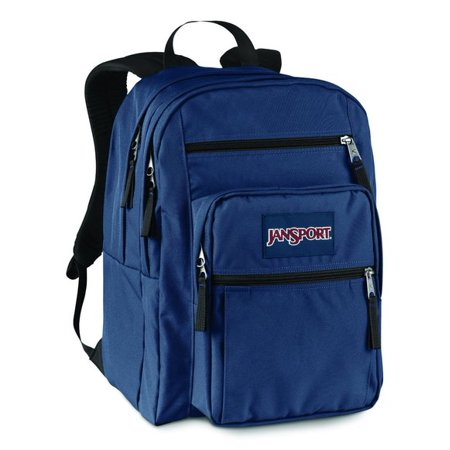 d8f811024d7a JanSport - Classic BIG STUDENT School BACKPACK Navy JS00TDN7003 -  Walmart.com