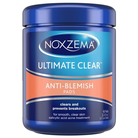 Noxzema Face Pads Anti Blemish 90 ct (Best Facial Kit For Summer)