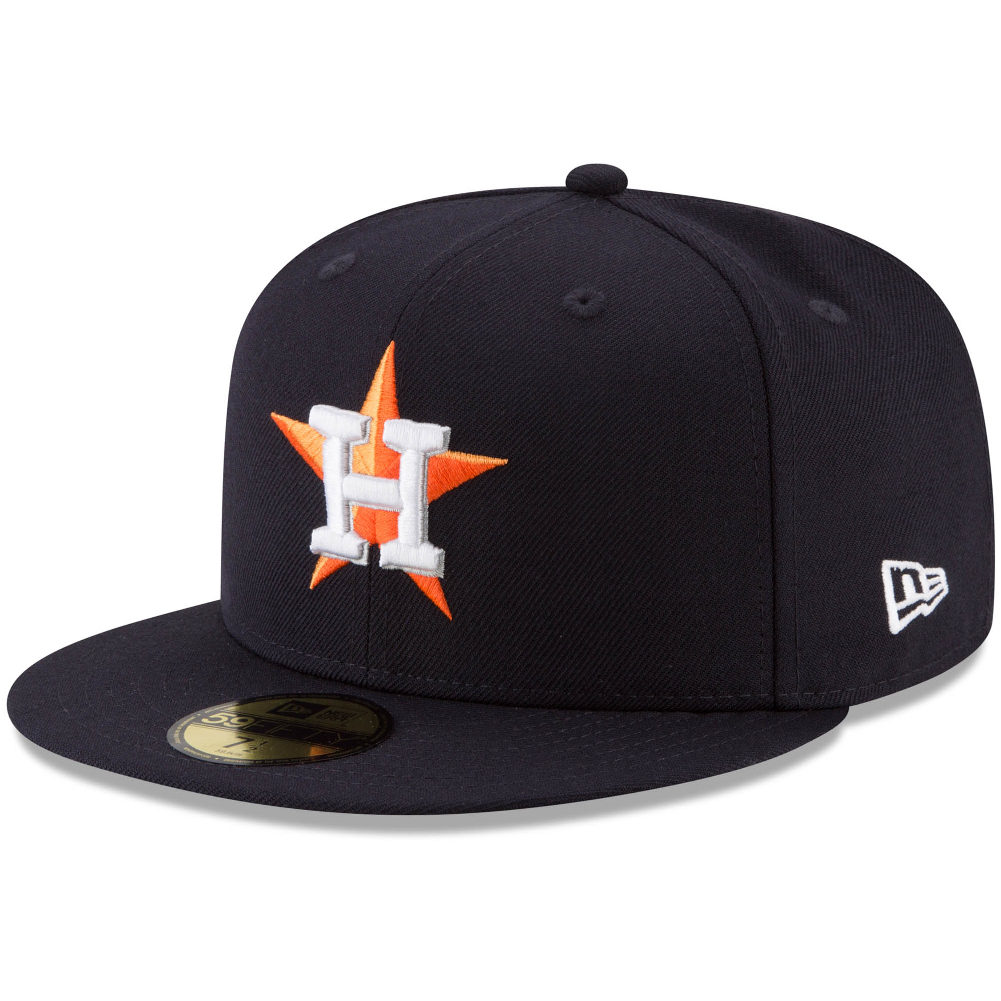 Houston Astros New Era Cooperstown Collection 2017 World Series Side Patch 59FIFTY Fitted Hat - Navy