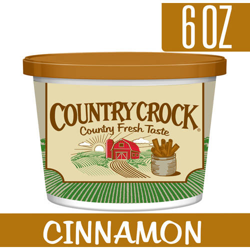Country Crock Limited Edition Cinnamon Spread, 6 oz