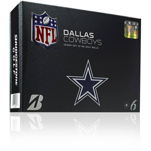 Bridgestone Nfl E6 Golf Balls Dallas Cowboys 6EWXNFLDC