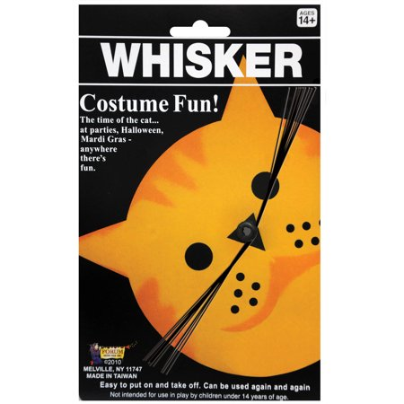 Cat Whiskers Adult Halloween Accessory