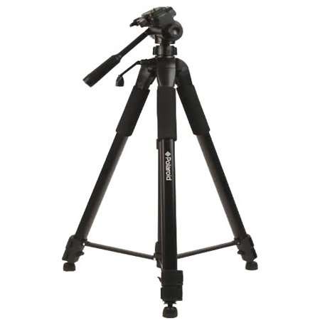 Polaroid 72-inch Photo / Video ProPod Tripod Includes Deluxe Tripod Carrying Case + Additional Quick Release Plate For Digital Cameras & Camcorders Custom Brackets Quick Release Tripod