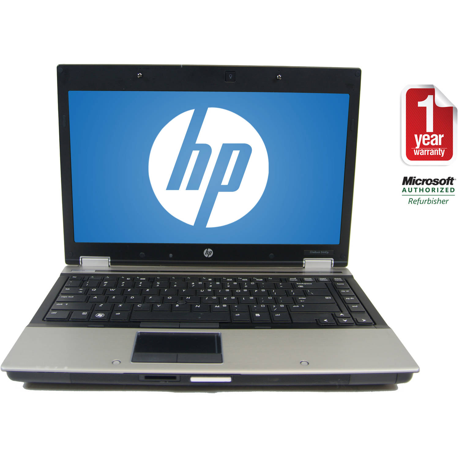 "Refurbished HP Black 14.1"" 8440P Laptop PC with Intel Core i5-520M Processor, 6GB Memory, 320GB Hard Drive and Windows 7 Home Premium"