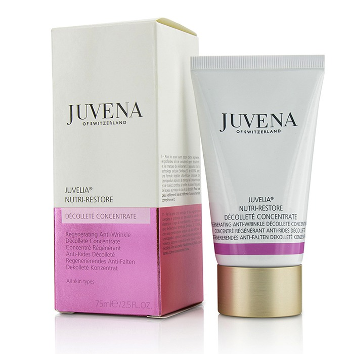 Juvena - Juvelia Nutri-Restore Regenerating Anti-Wrinkle Decollete Concentrate - All Skin Types -75ml/2.5oz