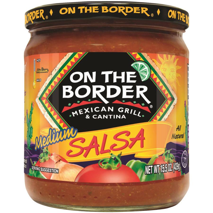 On The Border Mexican Grill & Cantina Medium Salsa, 15.5 oz