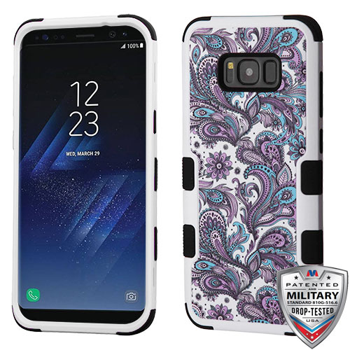 For Samsung Galaxy S8 Plus TUFF Hybrid Hard Impact Armor Protector Case Cover