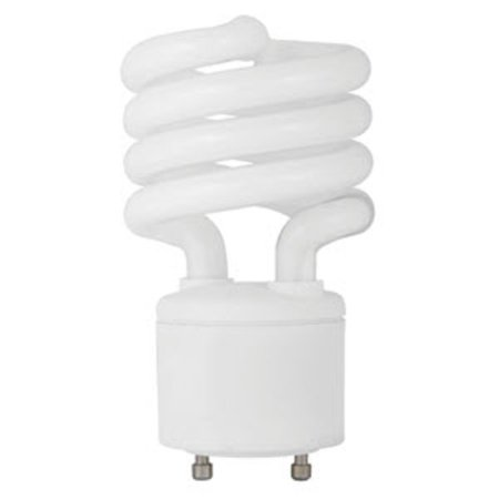 TCP 33123SP30K Single 23 Watt Frosted T4 Twist and Lock Compact Fluorescent Bulb - 3000K