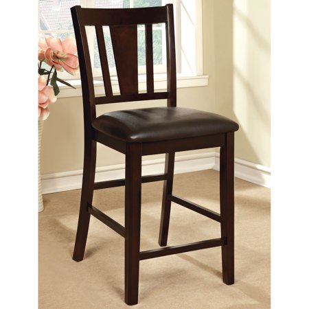 Furniture of America Bension Contemporary Espresso Counter Height Chairs (Set of 2) by (Page Contemporary Counter)