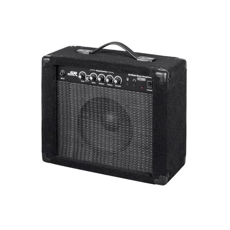 monoprice 20 watt 1x8 bass combo amplifier. Black Bedroom Furniture Sets. Home Design Ideas