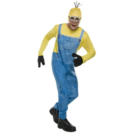 Minions Movie Minion Kevin Men's Adult Halloween Costume, 1 Size - Adult Minion Costume