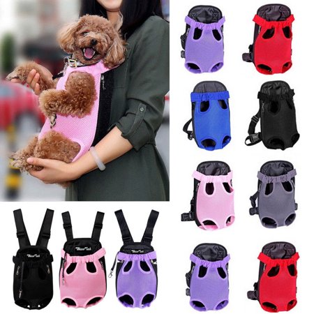 Dog Carrier Backpack Cat Puppy Pet Front/Back Shoulder Carry Sling Bag Pouch (Sling Style Pet Carrier)