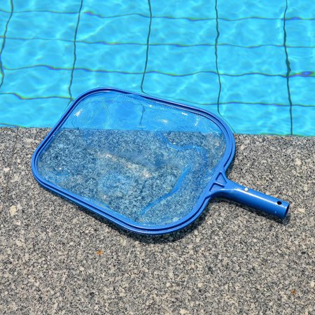 Tuscom Professional Leaf Rake Mesh Frame Net Skimmer Cleaner Swimming Pool Spa Tool New