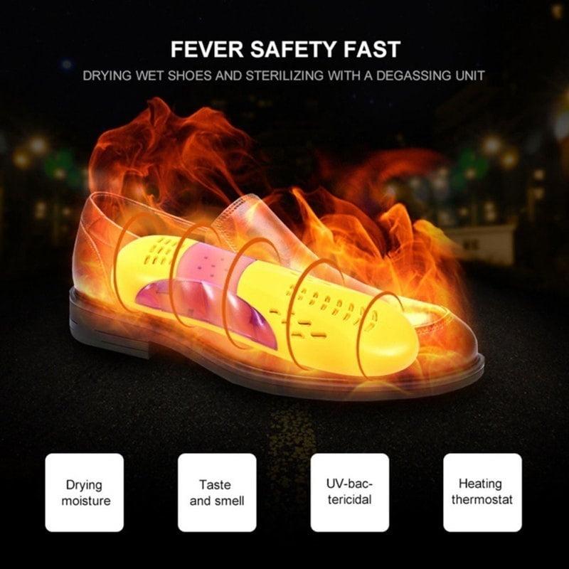 220V Shoe Dryer Shoe Sterilizer Heater Warmer UV Shoe Sterilizer Heating DryYch
