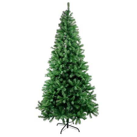 210CM Classic Pine Christmas Tree Artificial Realistic Natural Branches US (Best Way To Store Artificial Christmas Tree)
