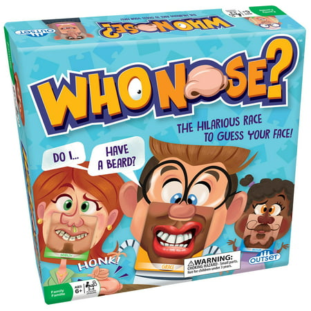 Halloween Relay Races Game (Outset Media Who Nose?: The Hilarious Race To Guess Your Face)