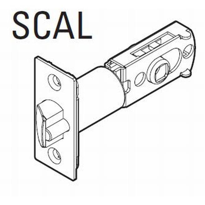 Kwikset 83517-15 UL Adjustable Square Corner Deadlatch Satin Nickel Finish