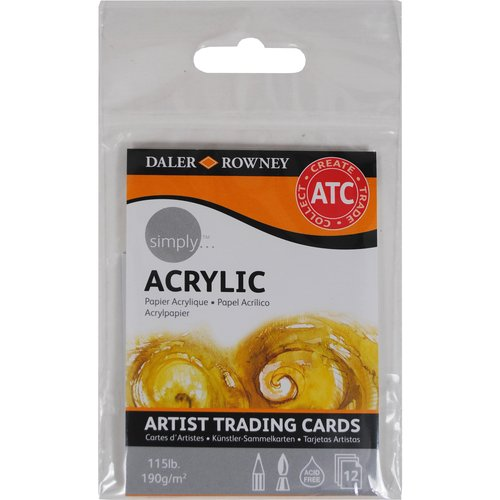 Simply Artist Acrylic Trading Cards