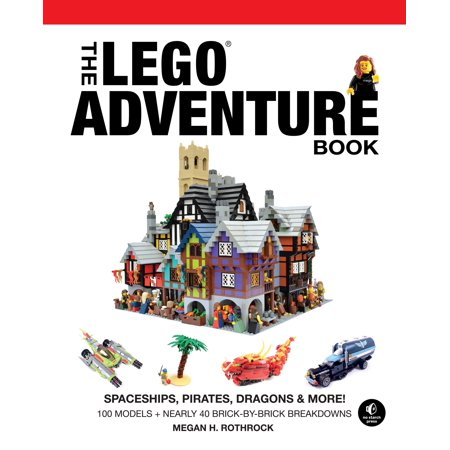 The LEGO Adventure Book, Vol. 2 : Spaceships, Pirates, Dragons & More!