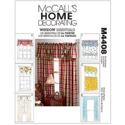 McCall's Pattern Window Essentials (Valances and Panels), All Sizes in 1 Envelope