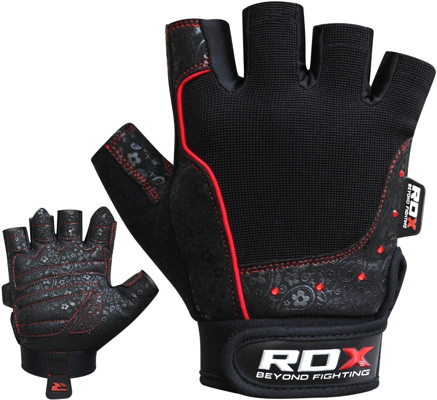 RDX Women Gym Weight Lifting Gloves Ladies Crossfit Training Bodybuilding Fitness Exercise by RDX