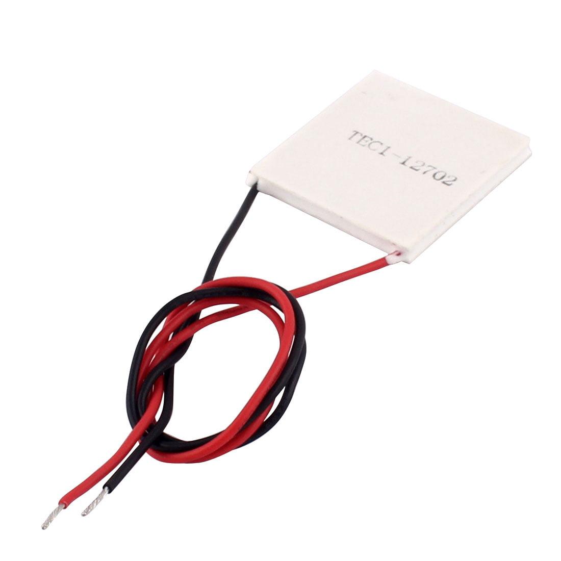 Unique Bargains TEC1-12702 2A 12V 23W 40x40x4mm Thermoelectric Cooler Peltier Plate Module