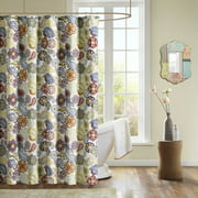 Home Essence Teen Tula Microfiber Printed Shower Curtain
